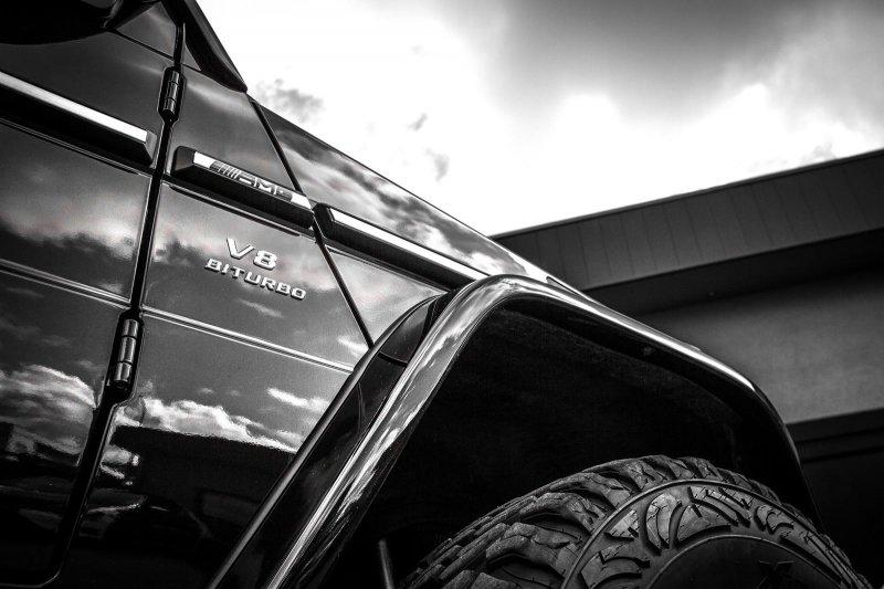 Мощнейший Mercedes-Benz G63 AMG от mcchip-dkr