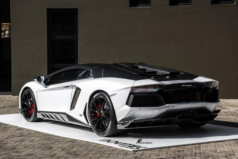 Lamborghini Aventador от Novitec Torado