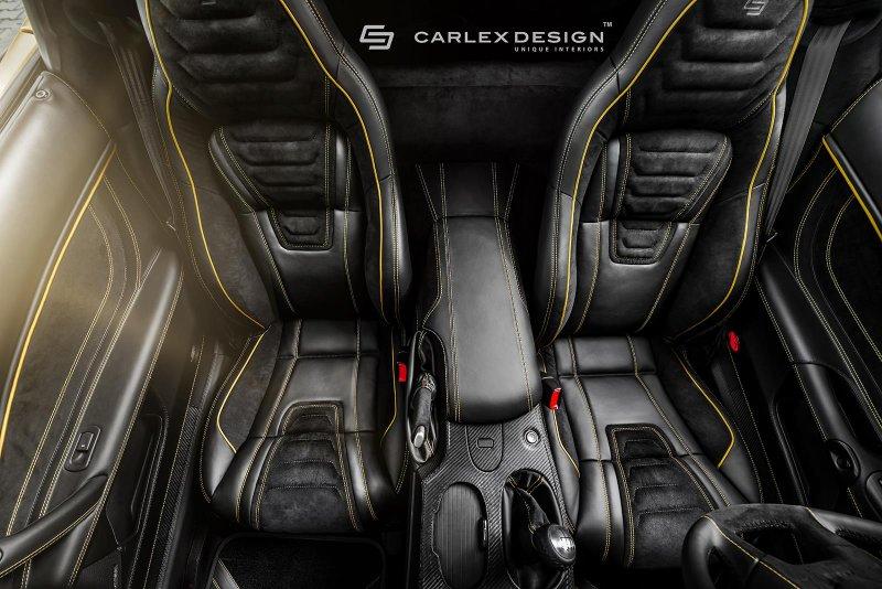 Carlex Design поработал над интерьером Corvette C6