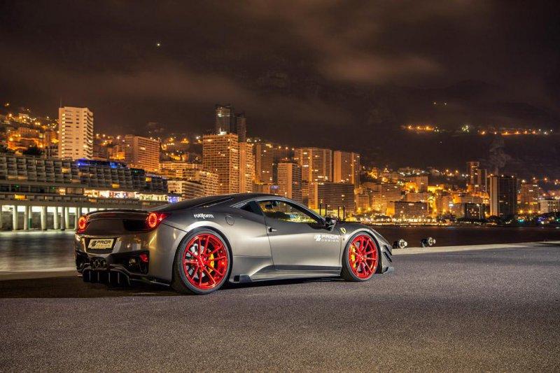 Ferrari 458 Italia из мастерской Prior Design