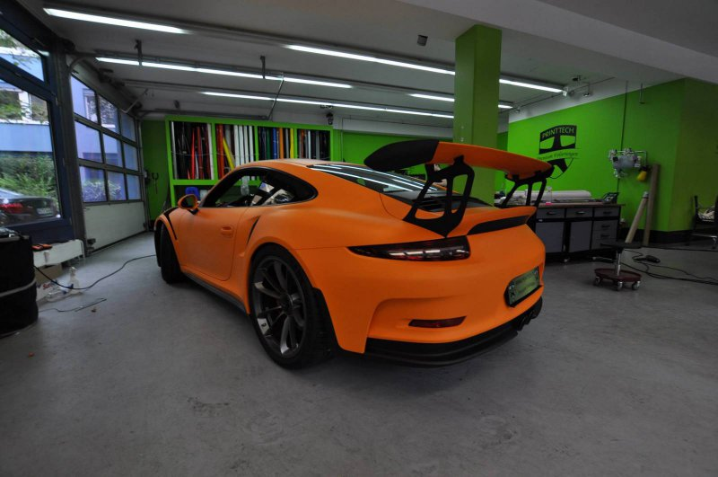 Гоночный Porsche 911 GT3 RS 2016 от Print Tech Premium Wrapping