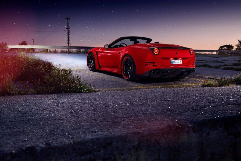 Ferrari California T N-Largo от Novitec Rosso