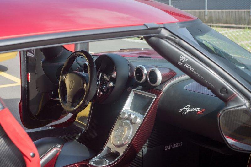 Редчайший Koenigsegg Agera R на дисках от ADV.1