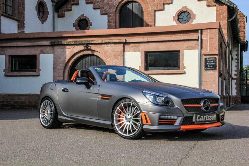 Carlsson превратил Mercedes-Benz SLK 55 AMG в CSK55