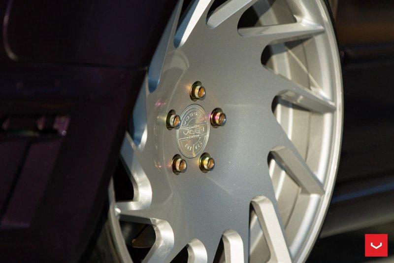 Кастом-дизайн Audi RS4 Avant с дисками от Vossen