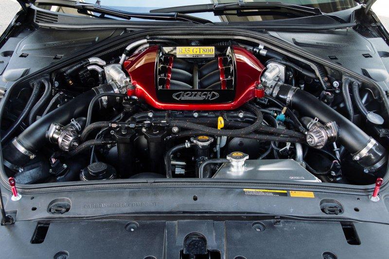 1200-сильный Nissan GT-R от Jotech MotorSports
