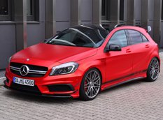 Mercedes-Benz A45 AMG Edition 1 в тюнинге Folien Experte