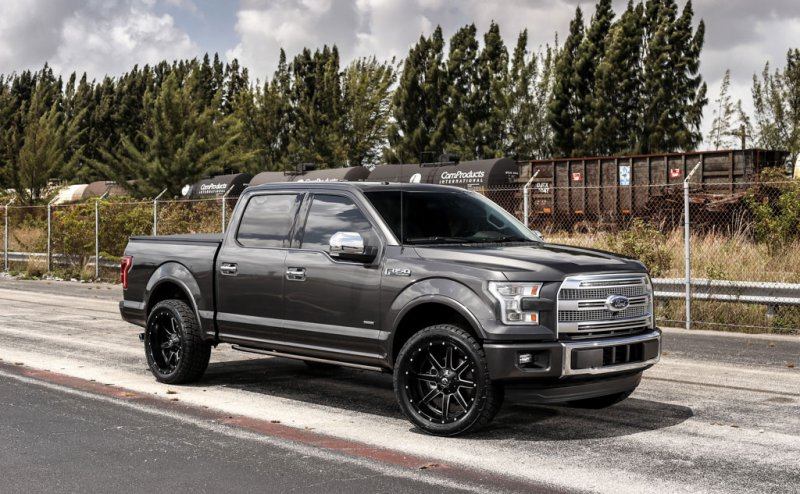 Ford F150 Platinum 2015 от Exclusive Motoring