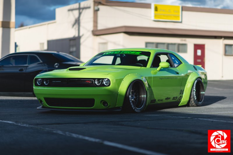 Шоу-кар Dodge Challenger Scat Pack Project Hulk