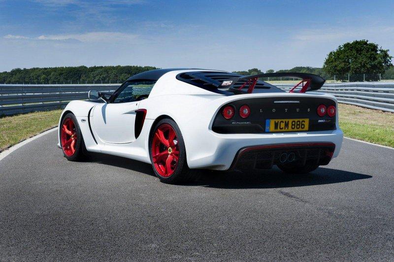 Lotus представил дорожно-трековый спорткар Exige 360 Cup