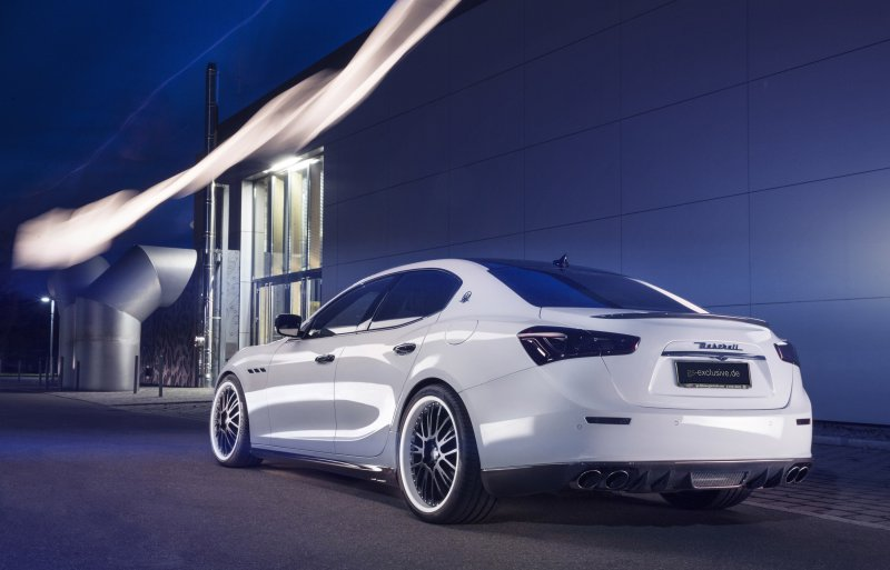 Maserati Ghibli EVO от ателье G&S Exclusive