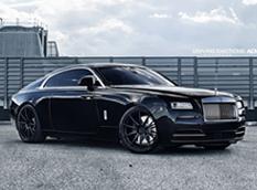 Rolls-Royce Wraith на дисках от ADV.1 Wheels