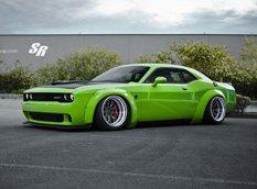 Dodge Challenger Hellcat в обвесах от Liberty Walk