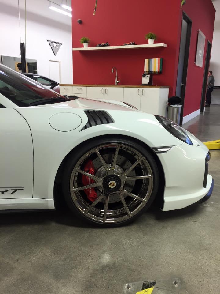 Porsche 991 Turbo от Vorsteiner