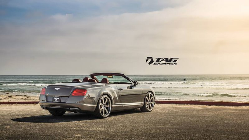 TAG Motorsports поработал над Bentley Continental GTC W12