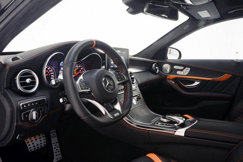 Brabus показал доработанный Mercedes-AMG C63 S