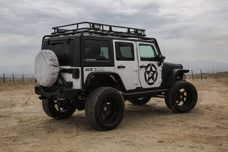 Jeep Wrangler в доработке Forgiato