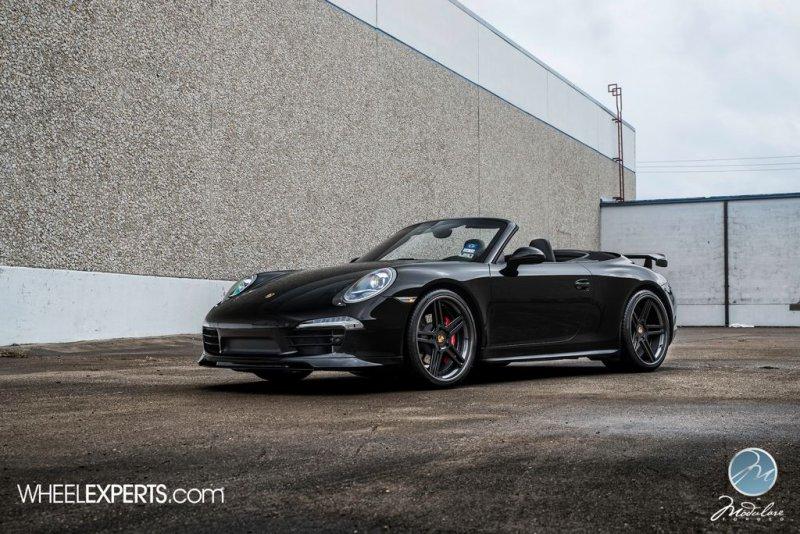 Porsche 911 Carrera 4S в новом обвесе на дисках Modulare