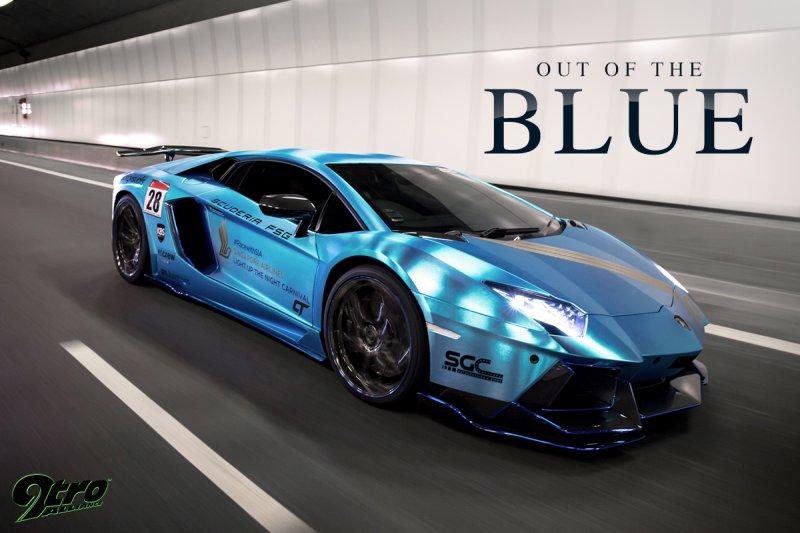 Lamborghini Aventador от Novitec Torado и Liberty Walk