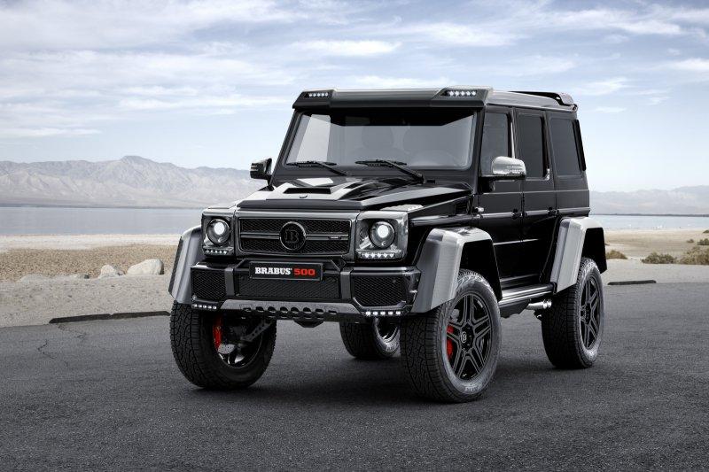 Brabus представил Mercedes-Benz G500 4x4²