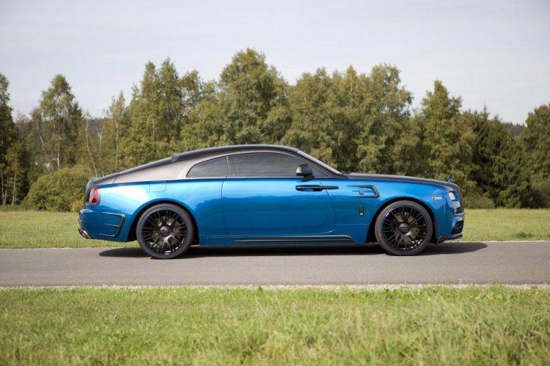 Rolls-Royce Wraith в исполнении Mansory