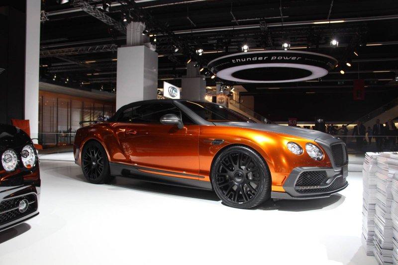 Франкфурт 2015: Bentley Continental GTC от Mansory