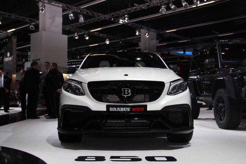 Франкфуртский автосалон: Mercedes-Benz GLE850 от Brabus