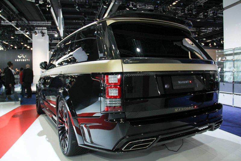 Франкфурт 2015: Range Rover Autobiography LWB от Mansory