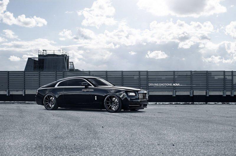 Rolls-Royce Wraith �� ������ �� ADV.1 Wheels