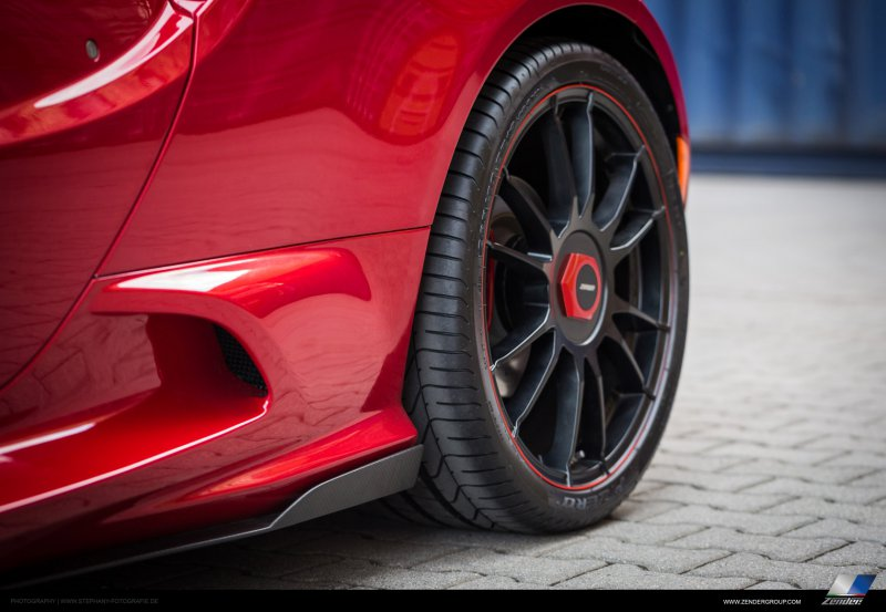Alfa Romeo 4C в тюнинге от Zender Italia