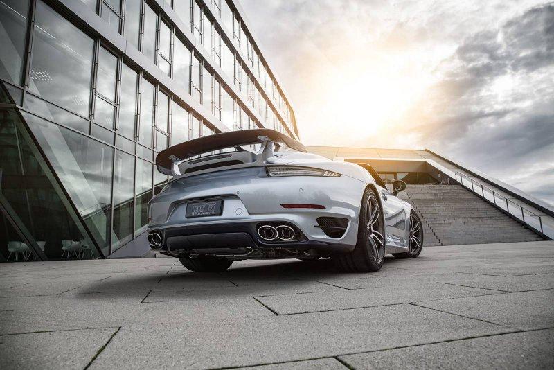 Кабриолет Porsche 911 Turbo S от TechArt