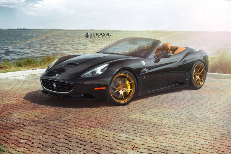 Ferrari California на дисках от Strasse Wheels