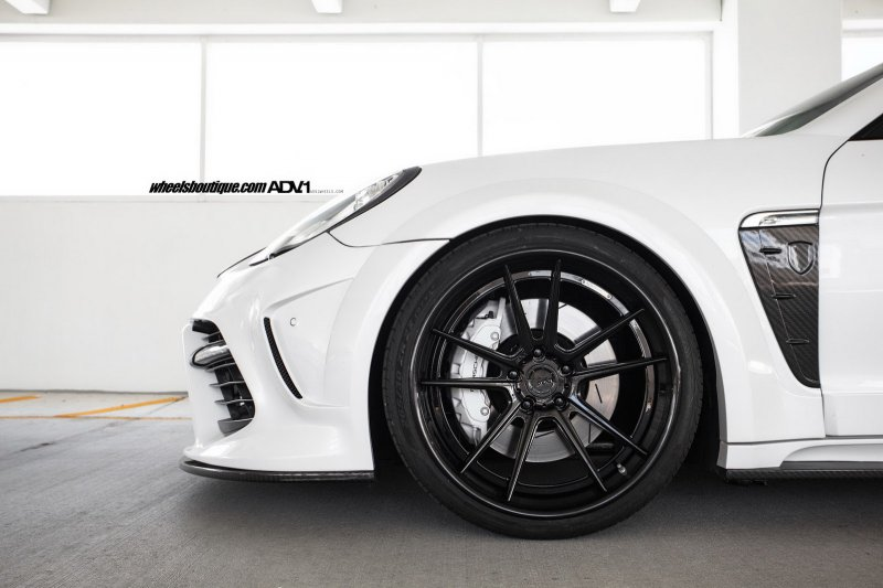 Porsche Panamera от Mansory на дисках ADV.1 Wheels