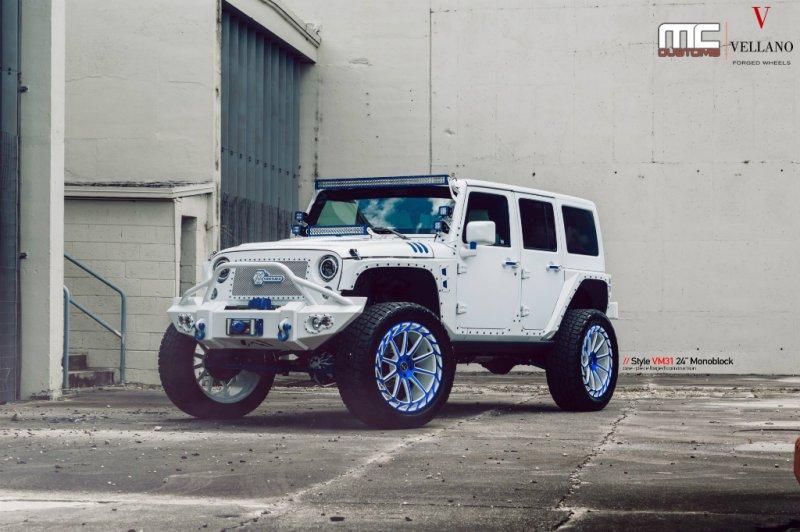 Jeep Wrangler в исполнении MC Customs