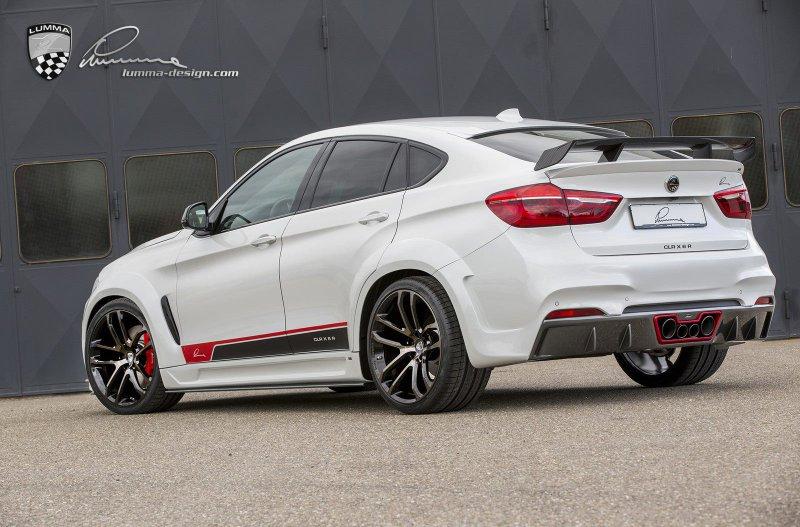 BMW CLR X6 R от Lumma Design