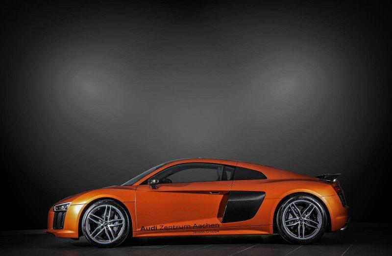 Audi R8 V10 Plus в исполнении HplusB Design
