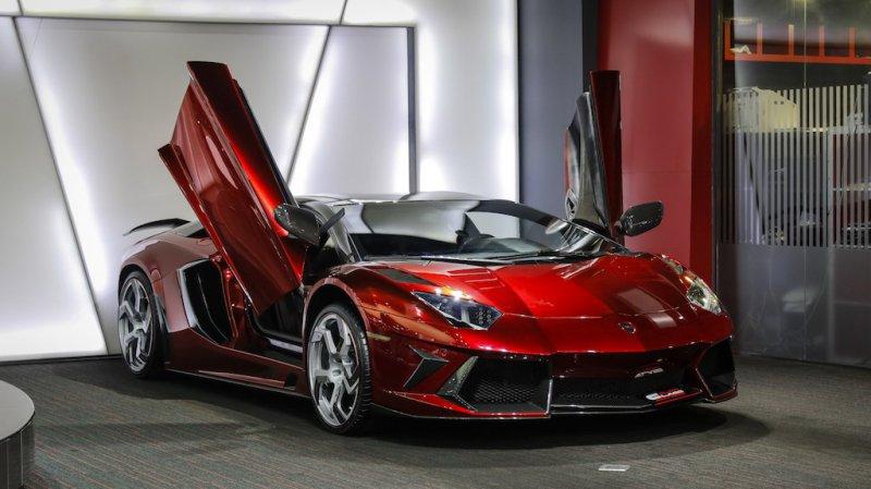 Lamborghini Aventador в исполнении Mansory