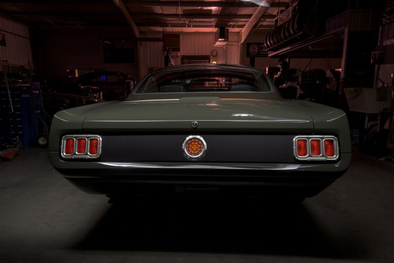 Ford Mustang Fastback Espionage от компании Ringbrothers