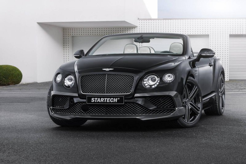 Bentley Continental GTC Speed от компании Startech