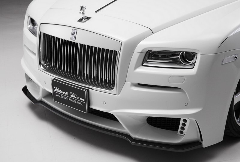 Rolls-Royce Wraith Black Bison Edition от Wald International