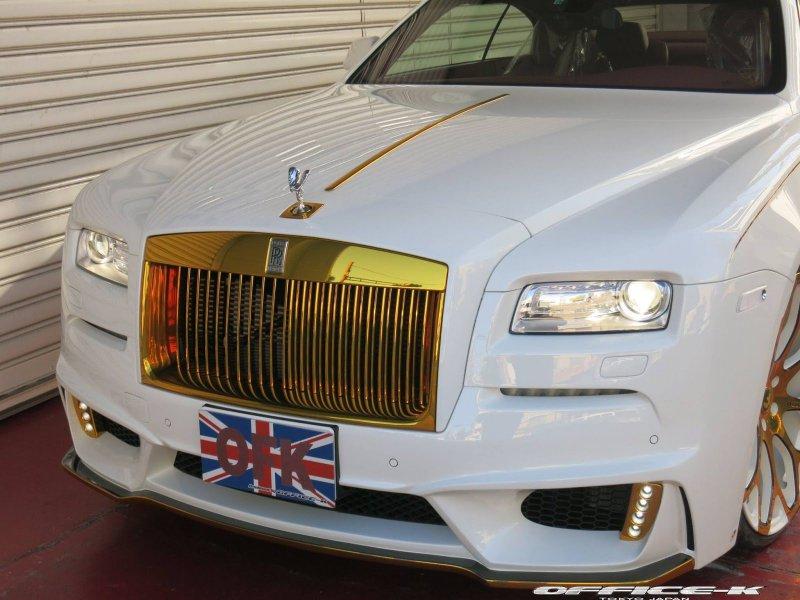 Rolls-Royce Wraith в исполнении Office-K
