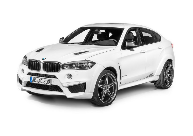 BMW X6 в тотальном тюнинге от AC Schnitzer