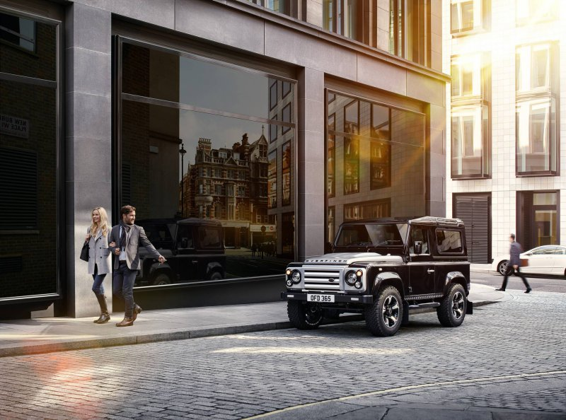Land Rover Defender � ������� Overfinch