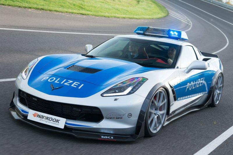 Полицейский Corvette C7 в исполнении TIKT Performance