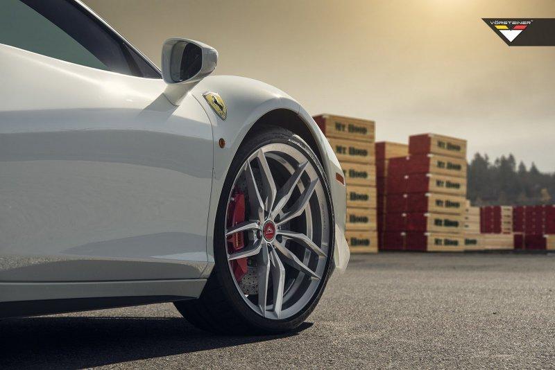 Ferrari 458 Italia на дисках от Vorsteiner