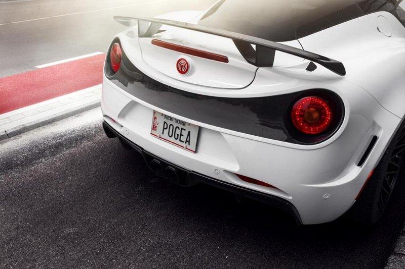 Ограниченная серию Alfa Romeo 4C от Pogea Racing