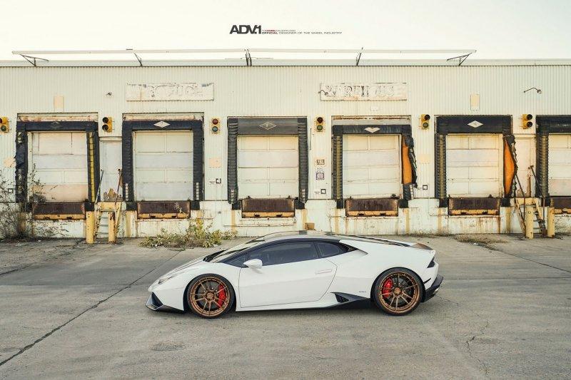 Lamborghini Huracan �� ������ �� ADV.1 Wheels
