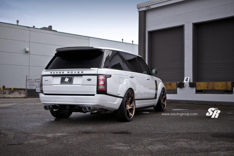 Range Rover в тюнинге от Khan Design