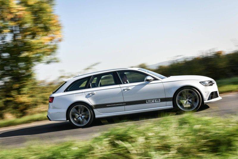 750-������� Audi RS6 Avant �� Litchfield