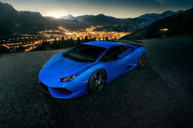 Lamborghini Huracan N-Largo от компании Novitec